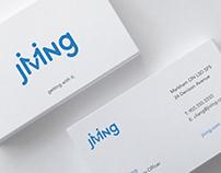"""Jiving"" | Visual Design (branding, website mockups)"