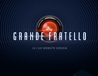 Grande Fratello - UI/UX Website design