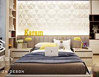 boy modern room design