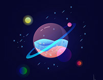 Galaxy - Instagram: begumsagirogludesign