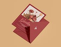 Free 5x7 Greeting Invitation Card Mockup