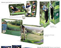 Michelob Golf, Tennis and Workout POS programs