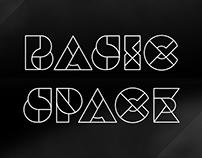 Basic Space - Animated Typeface