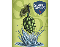 Samuel Adams Packaging Illustrations by Steven Noble