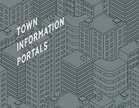 Town information portals