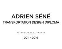 Master in transportation design - Diploma session
