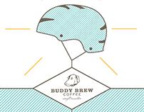 Buddy Brew Coffee Helmet Campaign