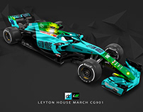 Re:Imagined - Leyton House March CG901 Livery