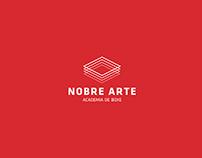 Identidade Visual Nobre Arte Academia de Boxe