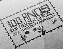 100 ANOS IMPRENSA OFICIAL ESTADO DE PERNAMBUCO