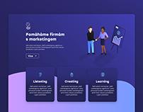 Website Visual Concept