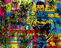 Superman collage