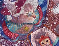 Кошки и Талисманы \ детская иллюстрация