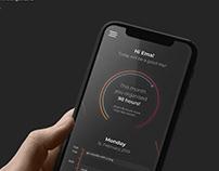 Daily organizer app