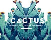 CACTUS PATTERN SS15