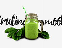 Spirulina Smoothie - promo | WDI
