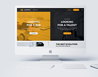 Web site for job/talent seekers