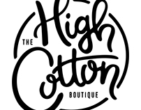 Hand Lettered Fashion Boutique Logo