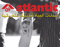 """Atlantic Water Heaters"" Adv.."
