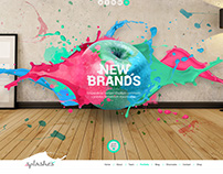 Splashee Creative WordPress Theme