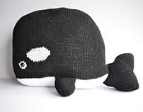 Cute Whale Cushion
