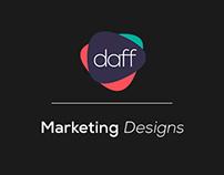 daff.digital // Marketing Designs