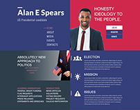 Alan E Spears Portfolio Mockup.