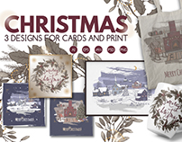 Christrmas cards and prints