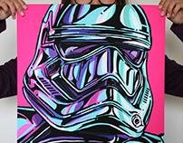 Star Wars, The Force Awakens Pop Art
