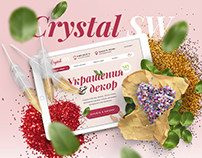 Online Store «Crystal SV»