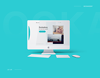 """Website Design for YouTube channel """"Bookademy"""""""