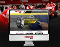 Web Site - Revendedora Pirelli - Valetão Pneus