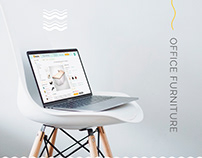Office Furniture Website | UI/UX Design