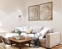 Interior Charming | 100m2 |Moscow |Russia