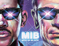 MEN IN BLACK Alternative poster