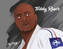 Teddy Riner - Illustration