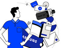 Samsung — Campaign Illustrations