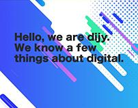 Dijy Landing Page