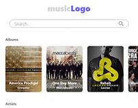 Music Player (app) - #DailyUI #009