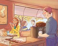 Cafe Love Story