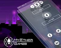 My Ether Games | Blockchain Casino | UX/UI | Branding