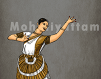 Illustrations - Indian Classical Dances