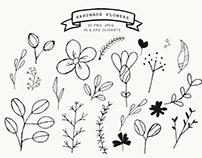 Free Handmade Flowers Clipart