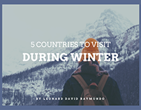 5 Countries to Visit During Winter