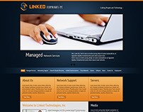 Linked Technologies Inc, Website Design
