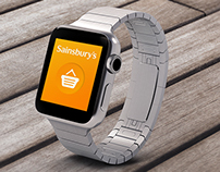 Sainsbury's x Apple Watch Concepts