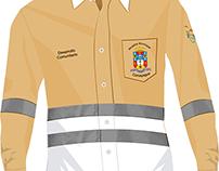 Diseño de camisas de trabajo