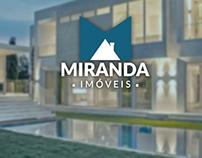 Logo + Layout Facebook - Miranda Imóveis.