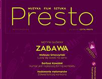 Layout: Presto magazine #20