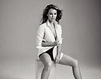 Katie Piper for Harper's Bazaar US by Jason Bell